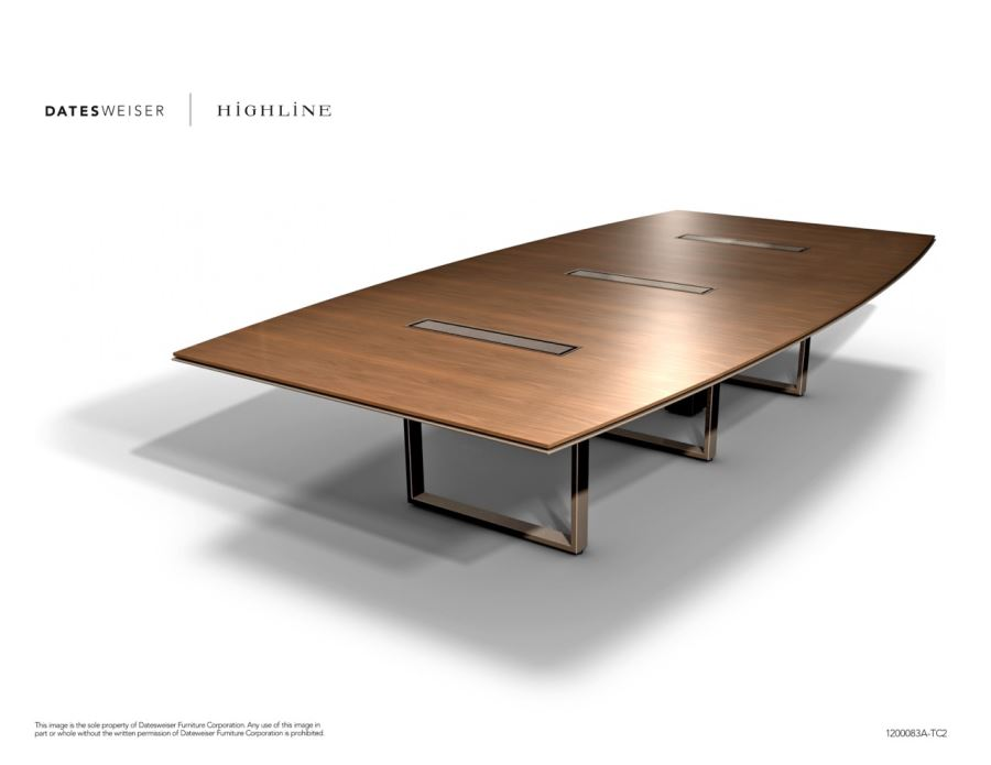Highline Boat-shaped Table 1