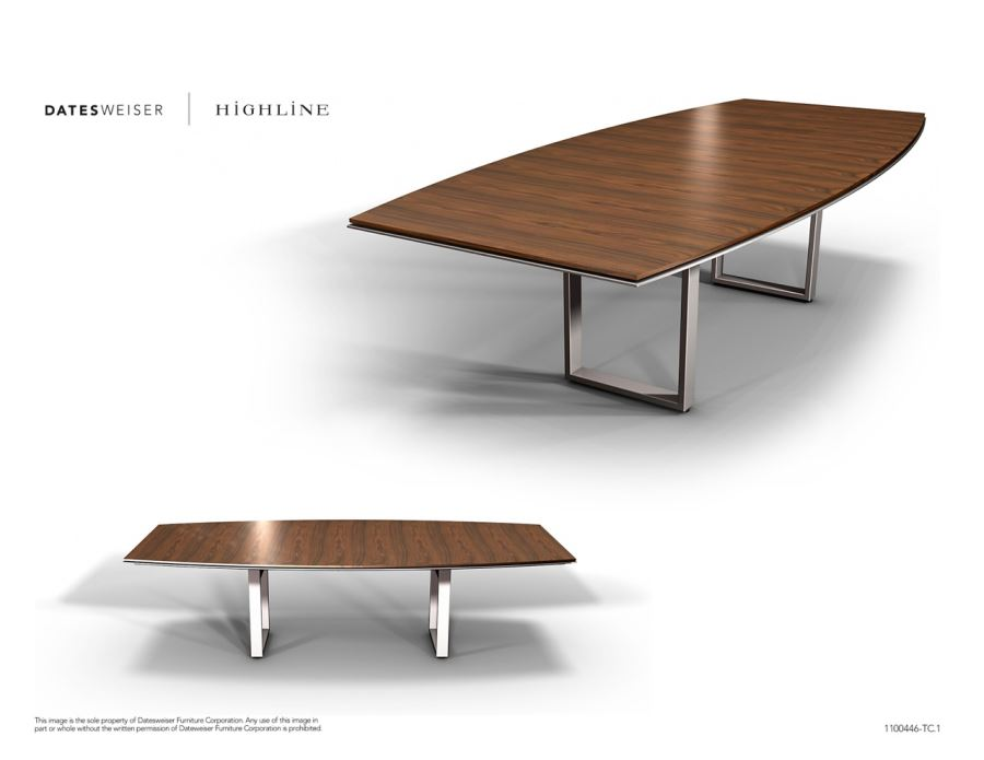 Highline Boat-shaped Table 2