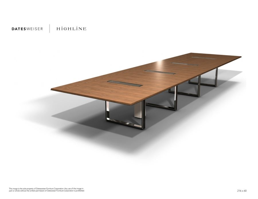 Highline Wood Conference Table 2